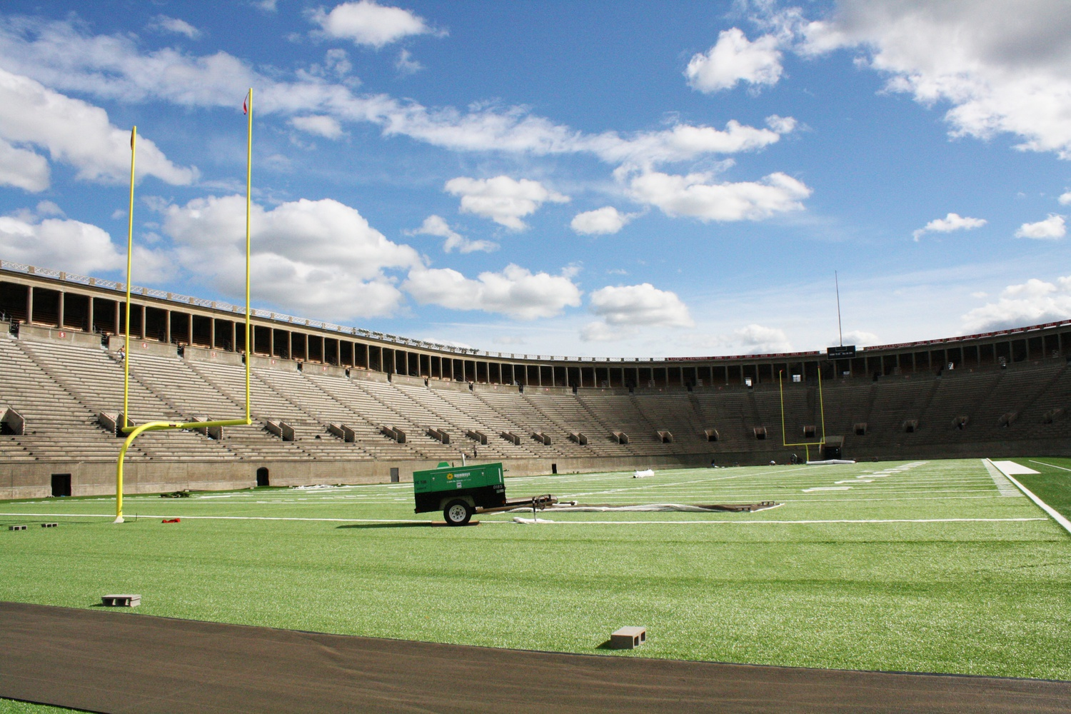 The proposal for Boston's 2024 Olympic bid plans to use Harvard Stadium for field hockey events.