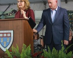 Gabrielle Giffords and Capt. Mark Kelly Speak at HLS Class Day