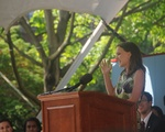 Natalie Portman Speaks to Class of 2015