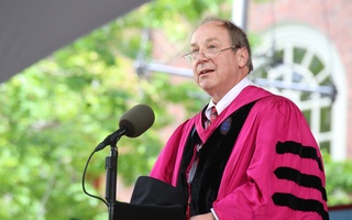 Harry Lewis at Commencement 2015