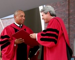 Deval Patrick Receives Honorary Degree