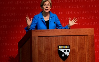 Senator Elizabeth Warren Speaks at Forum