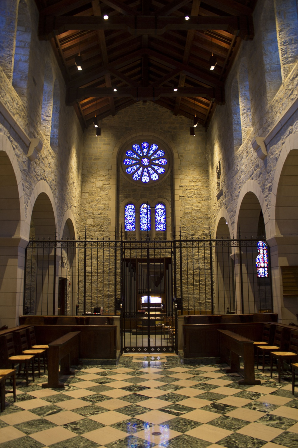The monastery chapel of the Society of Saint John the Evangelist near Harvard Square is open to local residents for daily periods of quiet prayer.