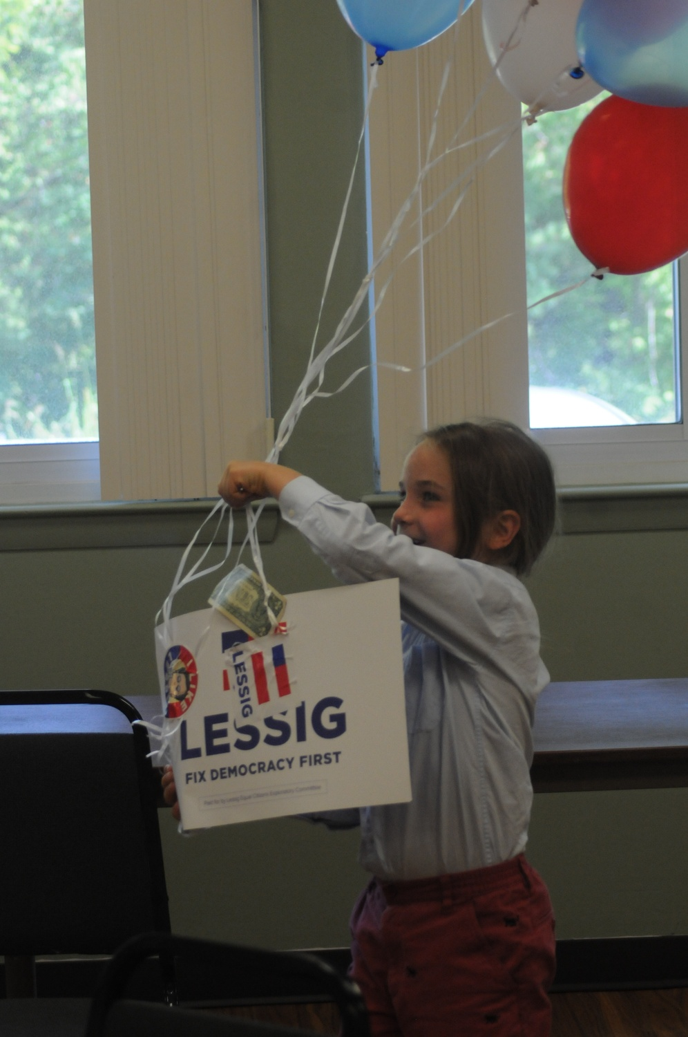 Campaigning for Lessig