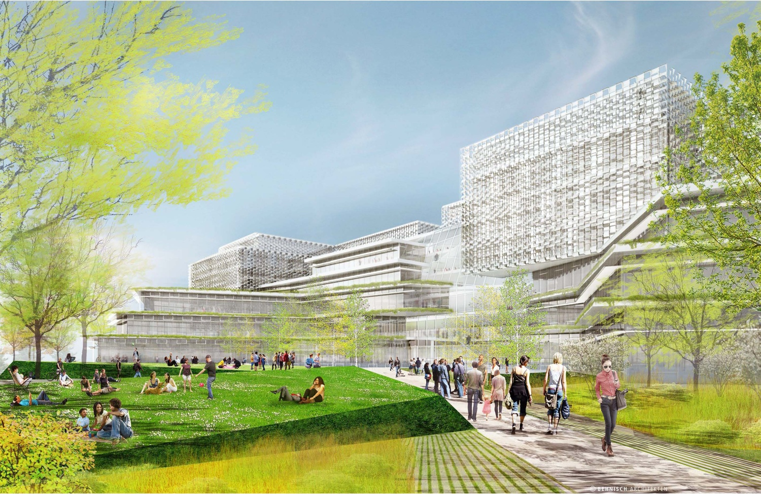 Plans for the science complex include classrooms, labs, lounge spaces, an exhibition space, a cafeteria, and 250 parking spots.