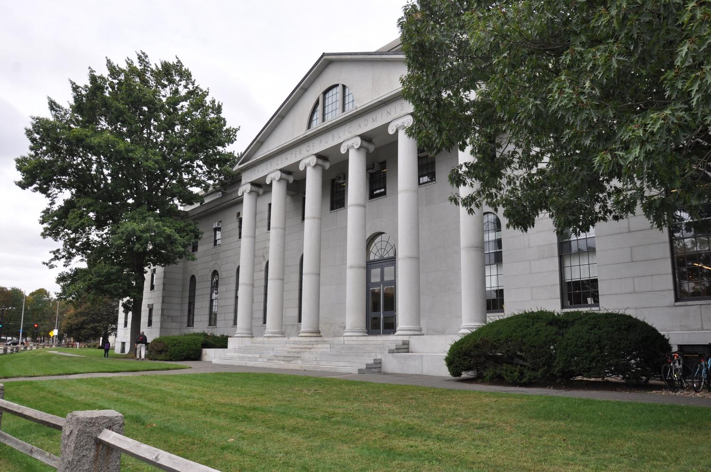The Littauer Center houses Harvard's Economics Department.