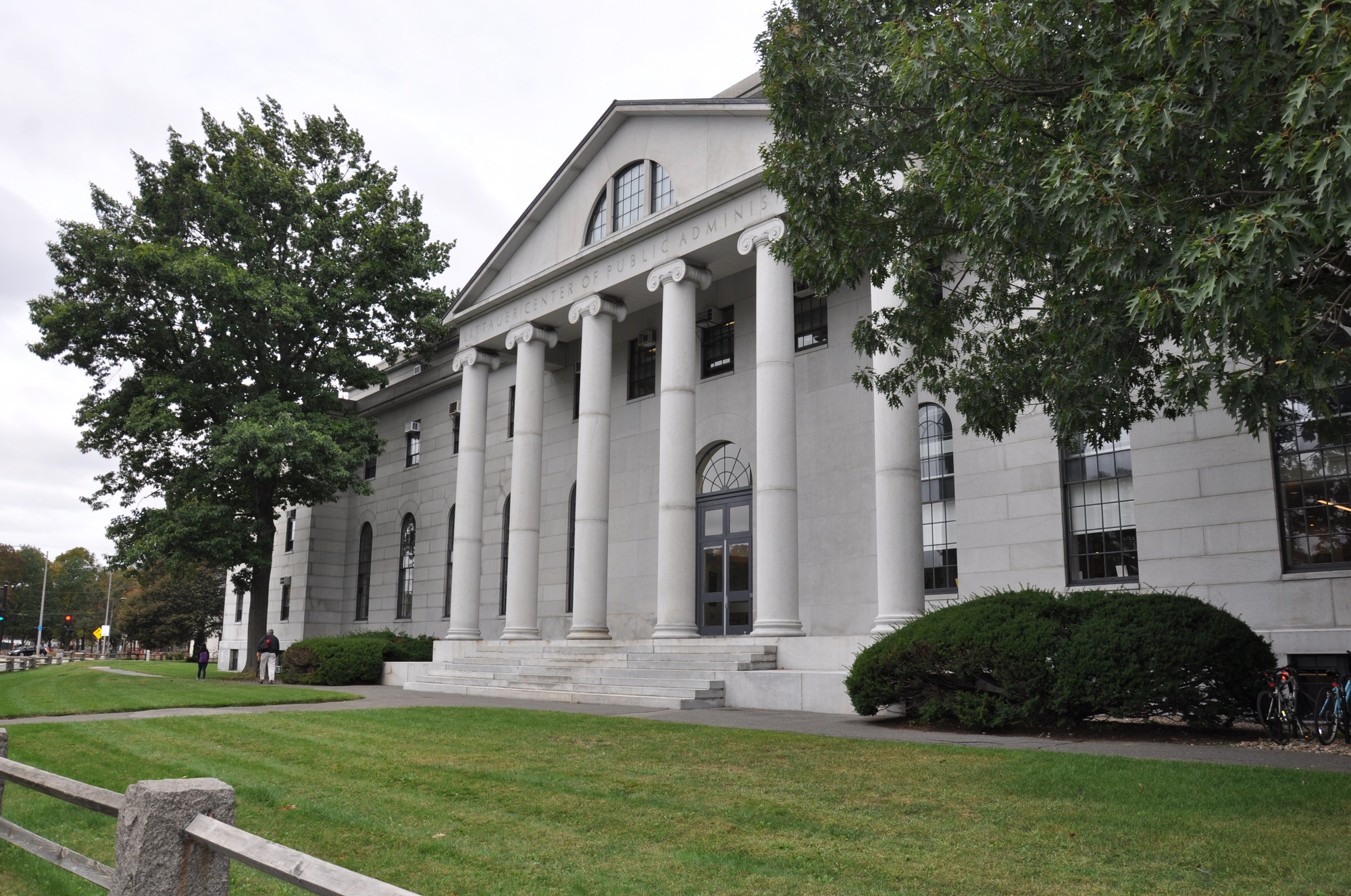 The Littauer Center for Public Administration Building is home to Harvard's Economics Department.