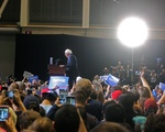 Bernie Sanders in Boston