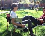 Outdoor Study Break