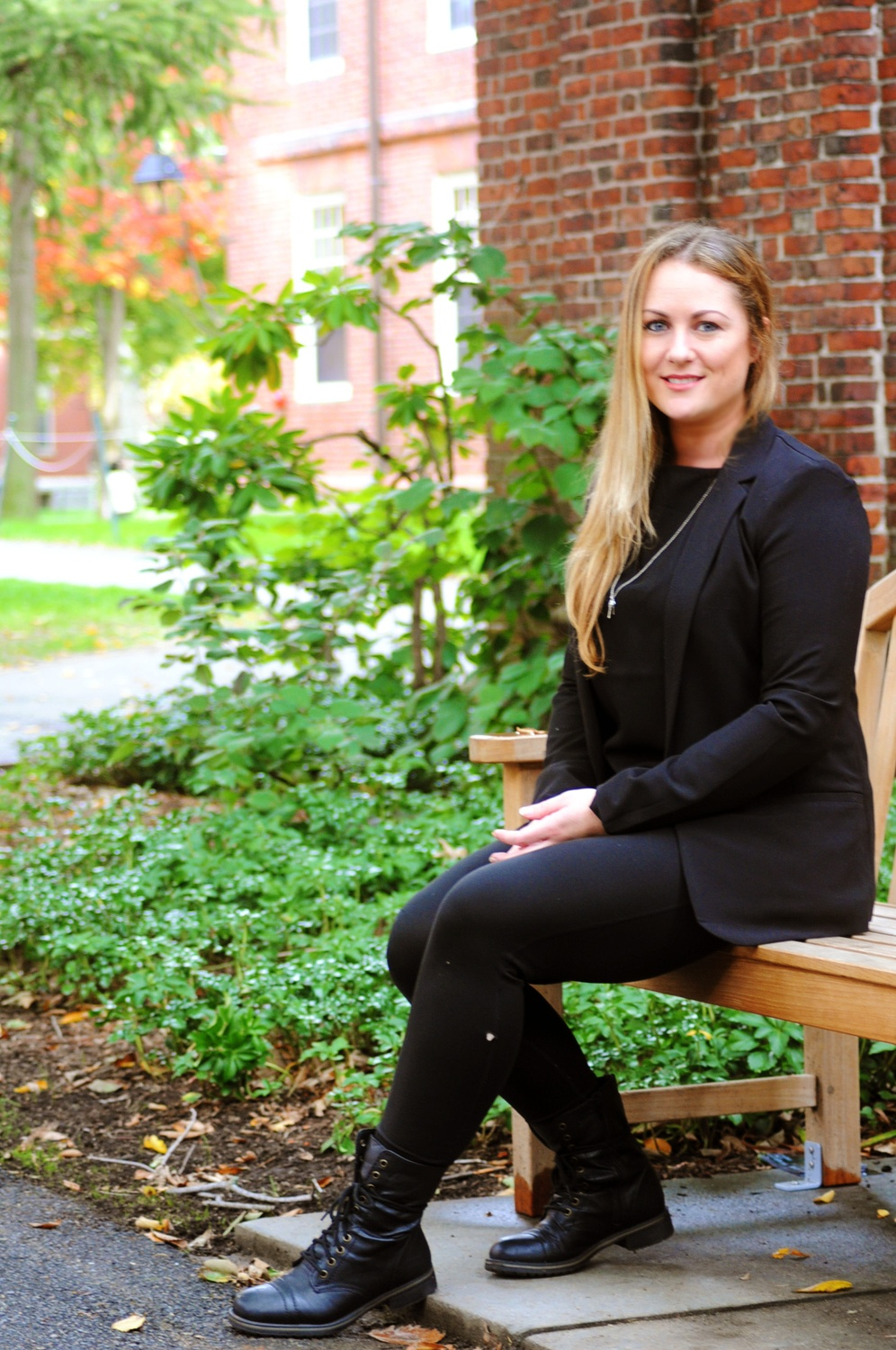 "Amanda M. Graves, who has spent her time previously working in the United States Coast Guard, as an auto mechanic, and in the music industry, has now integrated herself into life at Harvard through the Harvard Extension School.  ""You can make connections. I have friends from the College; I have friends from the grad schools; I have friends that work at the School,"" Graves says. ""You have to have the initiative to seek them out."""