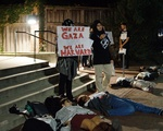 A Protest at the Hillel