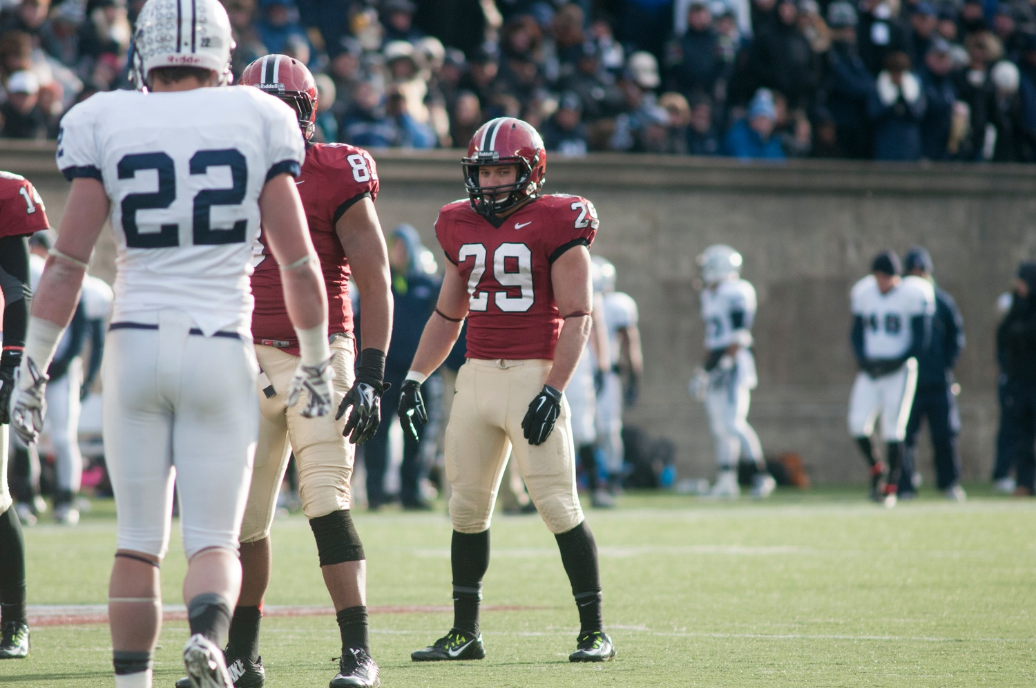Senior running back Paul Stanton has been a fixture in the Harvard backfield since his sophomore year, when he took over the starting job from graduated senior Treavor Scales '13.