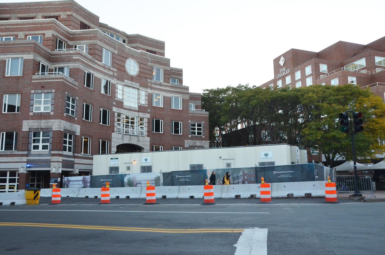 JFK Under Construction
