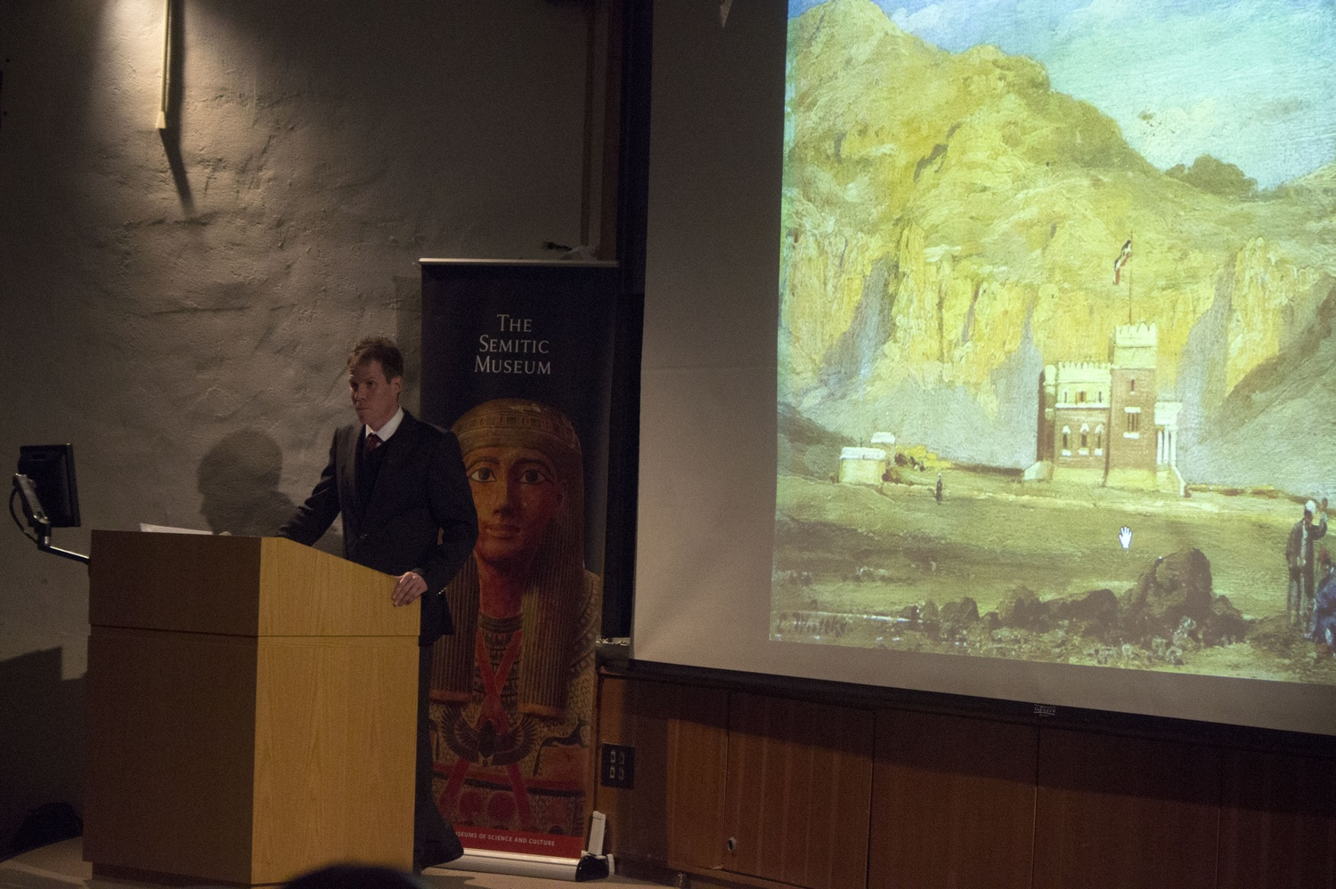 Thomas Gertzen speaks about German archaeological expeditions in Egypt around the time of World War I, and the possible anti-Semitic currents within German archaeology swirling around the iconic bust of Queen Nefertiti. The event was hosted by the Harvard Semitic Museum.