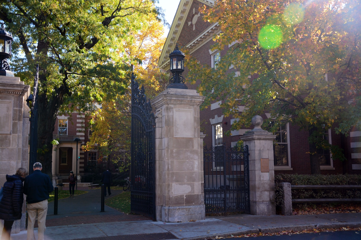 Located across the street from the Lamont Gate, the Barker Center is home to the Harvard Center for the Humanities.