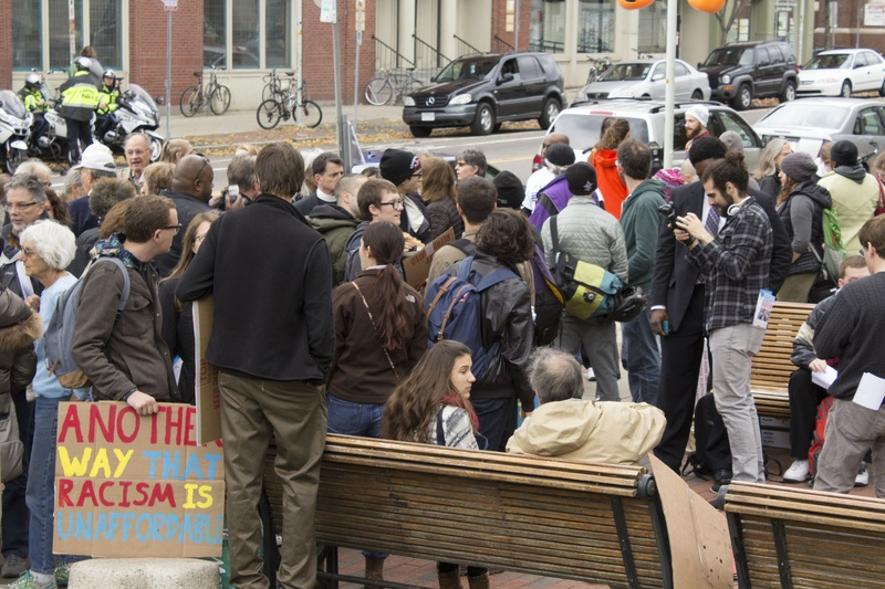 'We Matter Jobs and Housing Rally'
