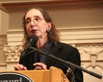 Joyce Carol Oates at First Parish Church