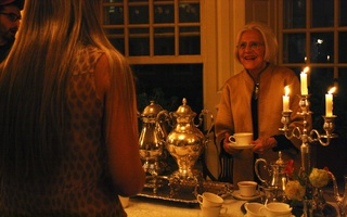 Birthday at Lowell Tea
