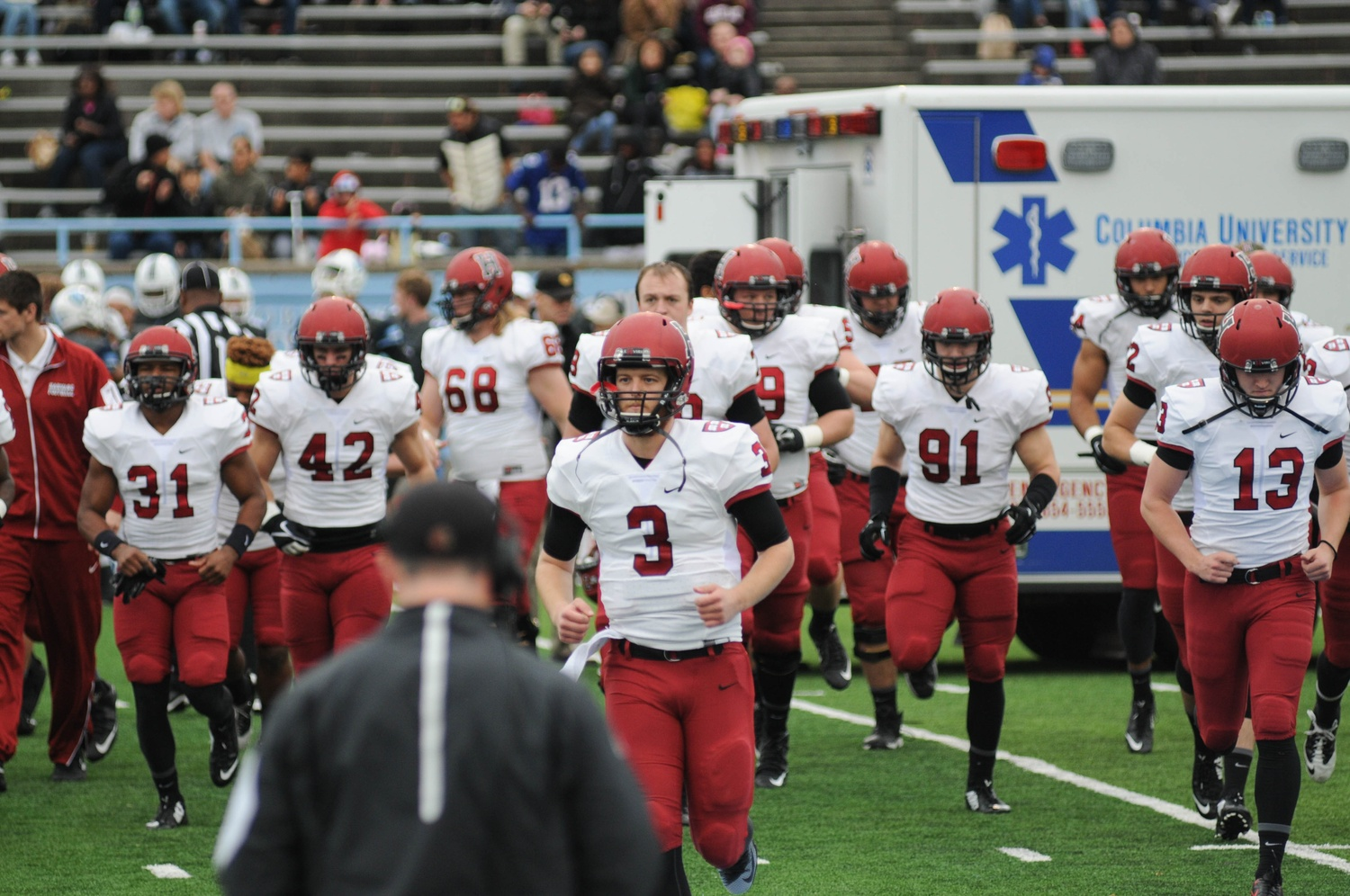 Senior quarterback Scott Hosch and the Harvard football team earned their 22nd consecutive win on Saturday.
