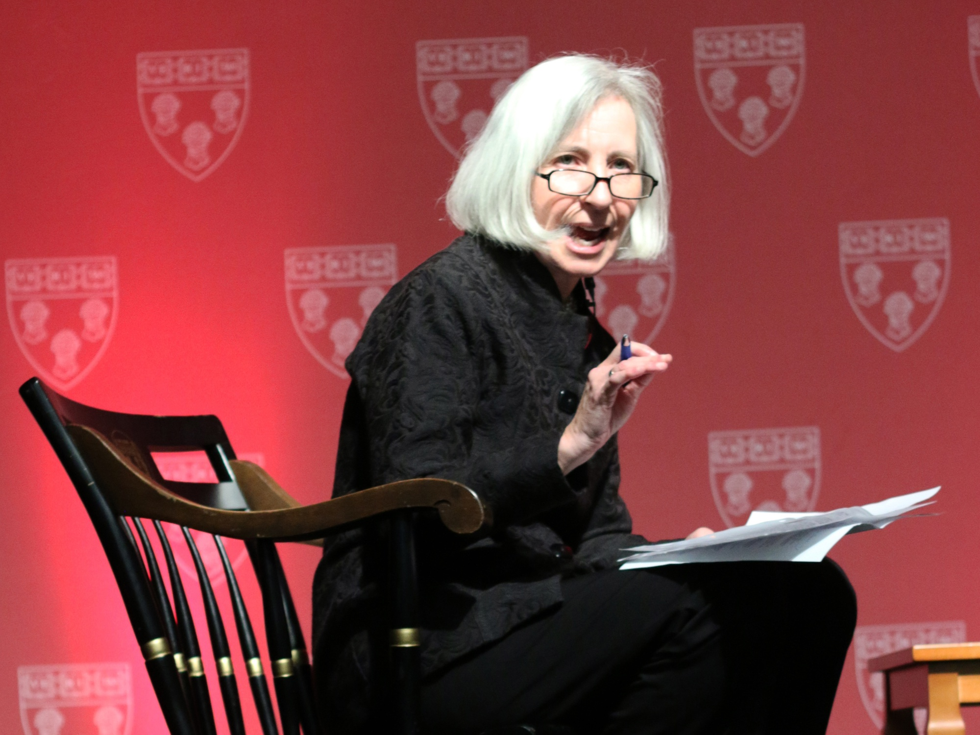 Harvard Law School Dean Martha L. Minow, shown here during Celebration 60 in 2013, defended race-based affirmative action for law school admissions in an amici curiae brief.