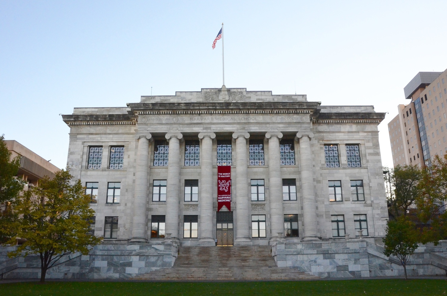 Harvard Medical School, pictured here in October.