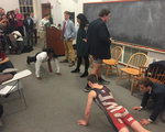 UC debate push up contest