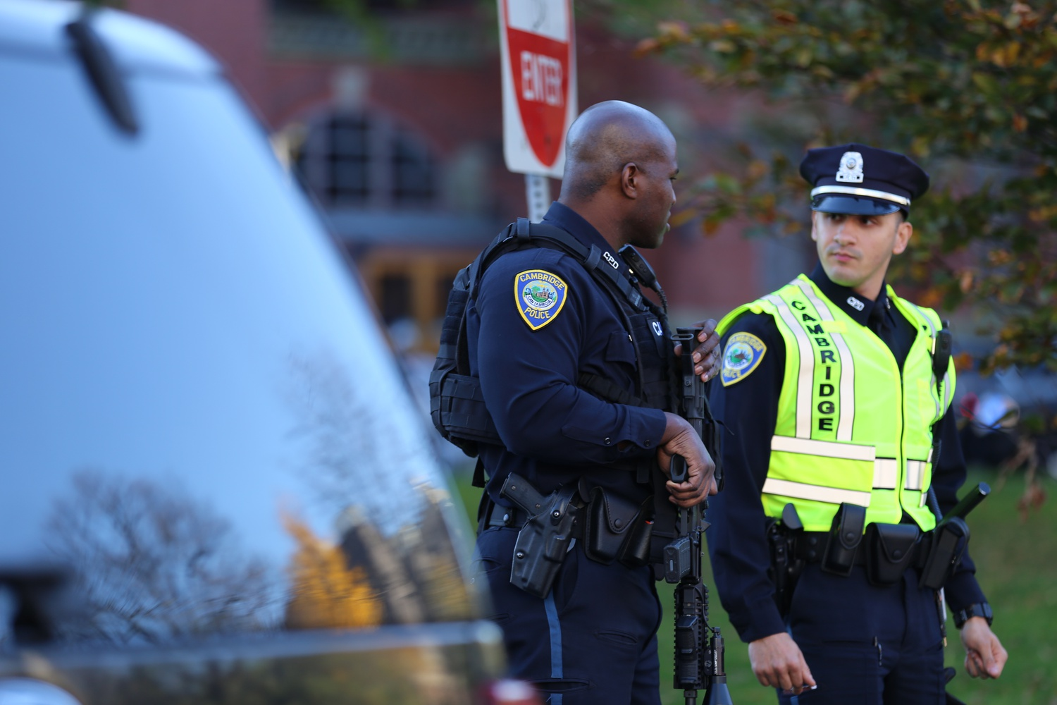 The Cambridge Police Department committed earlier this year to reduce its inventory of long guns and less-than-lethal weapons by 20 percent and 30 percent, respectively.