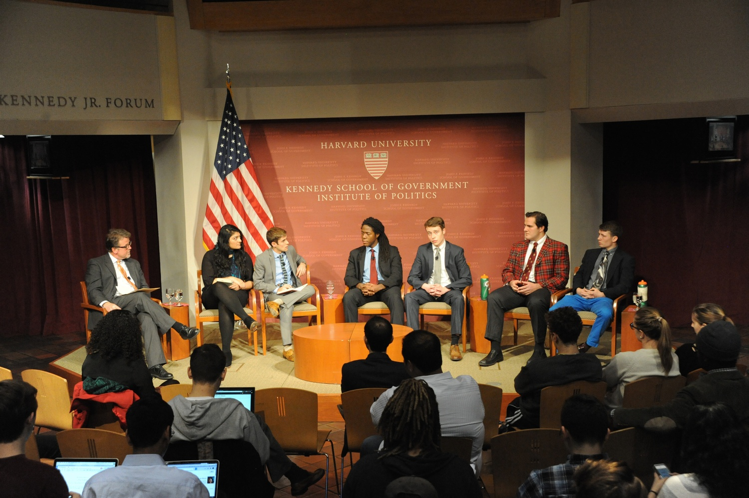 Undergraduate Council candidates debated at the Institute of Politics on Tuesday evening.
