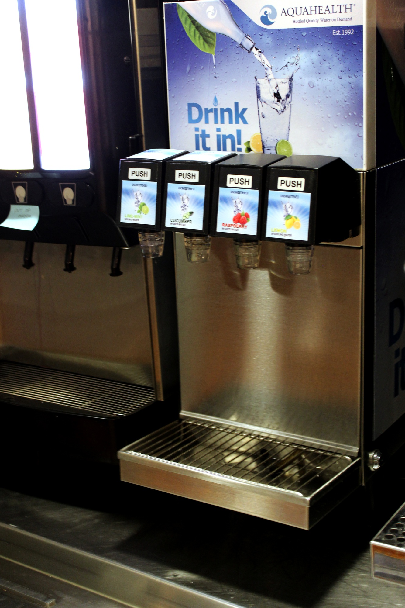 HUDS recently added infused water machines to their beverage options in the college dining halls.
