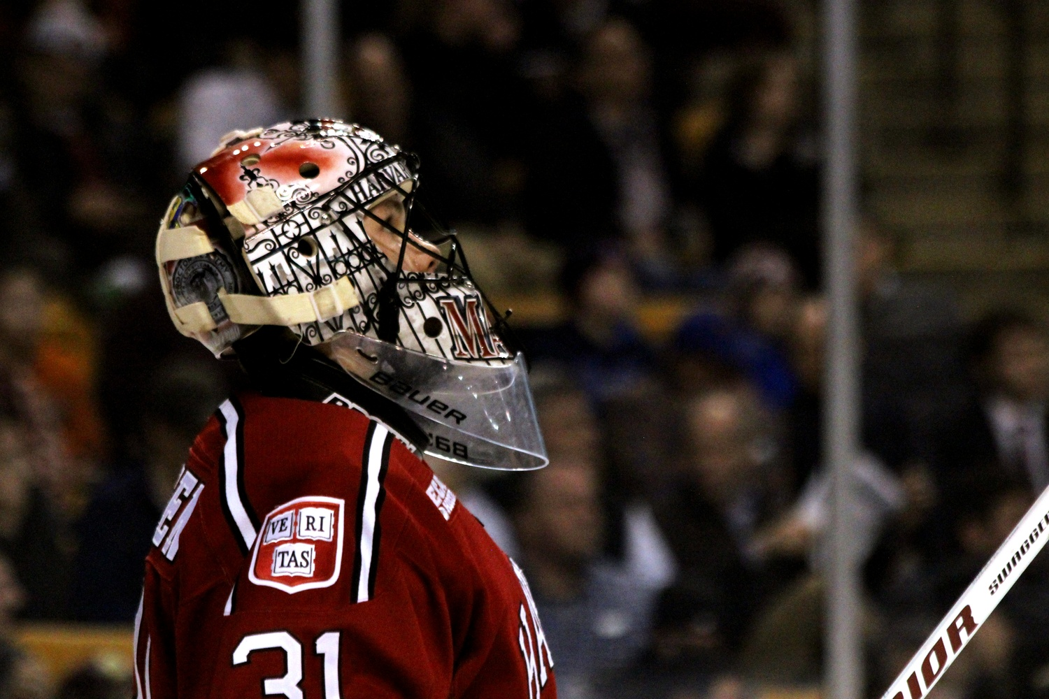 Sophomore goaltender Merrick Madsen stopped 30 of the 33 shots he faced, but it was ultimately not enough as Harvard fell to BC, 3-2, in a Beanpot semifinal.