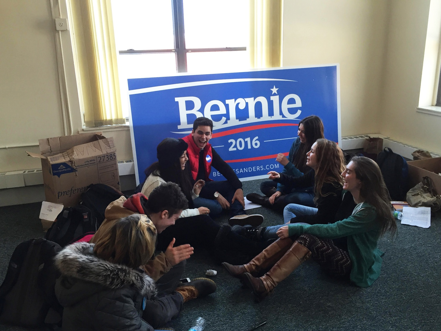 Harvard Students for Bernie