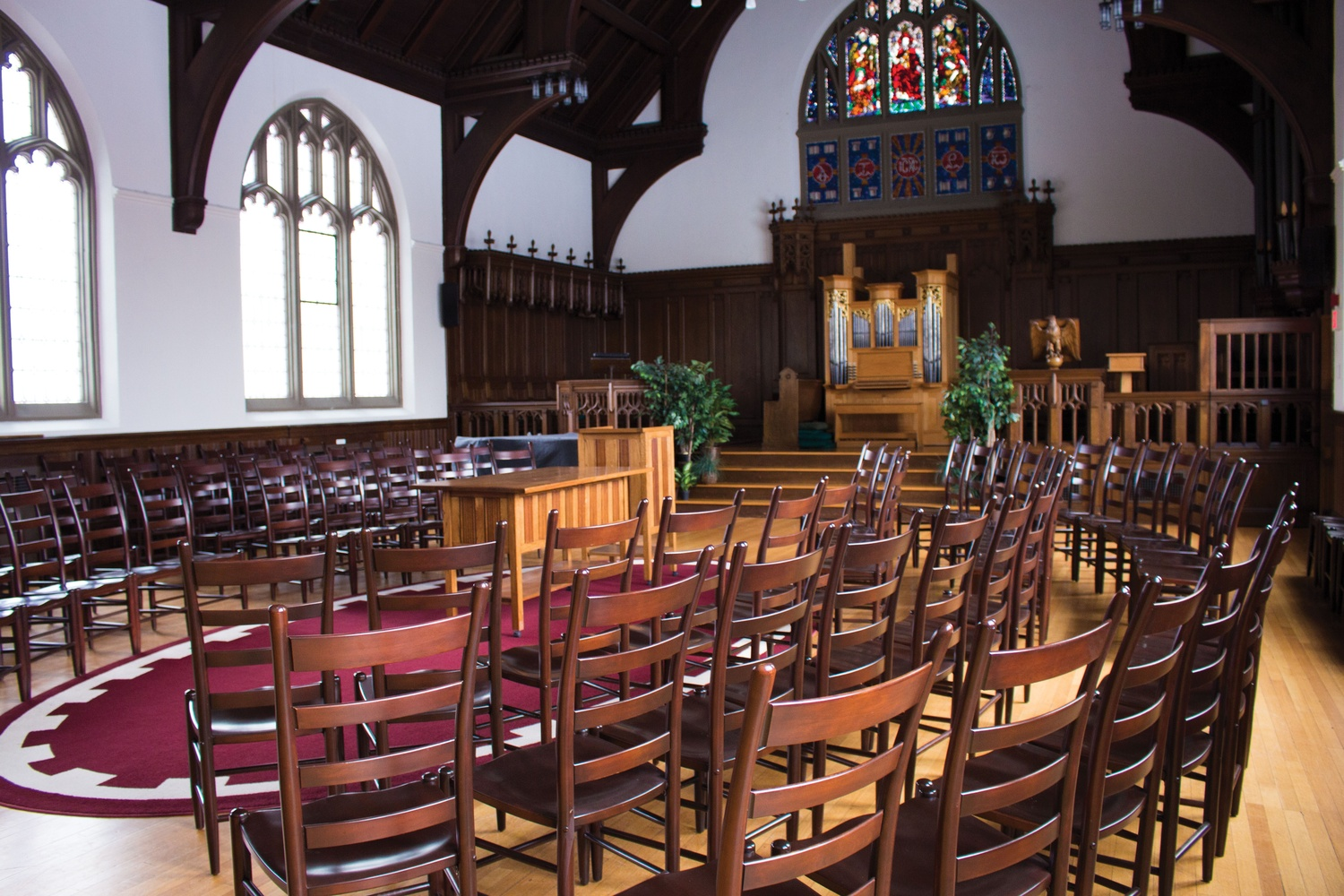 Andover Chapel at Harvard Divinity School