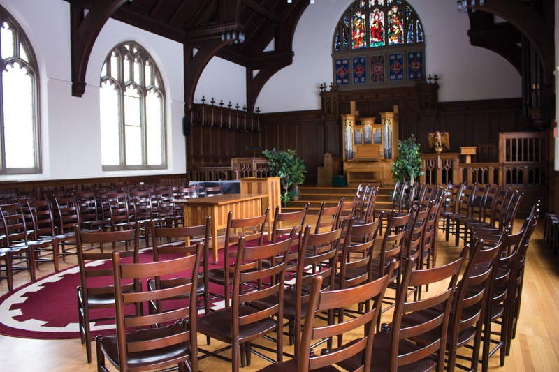 Andover Chapel at Harvard Divinity School