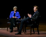 Conan C. O'Brien '85 Speaks in Sanders Theatre