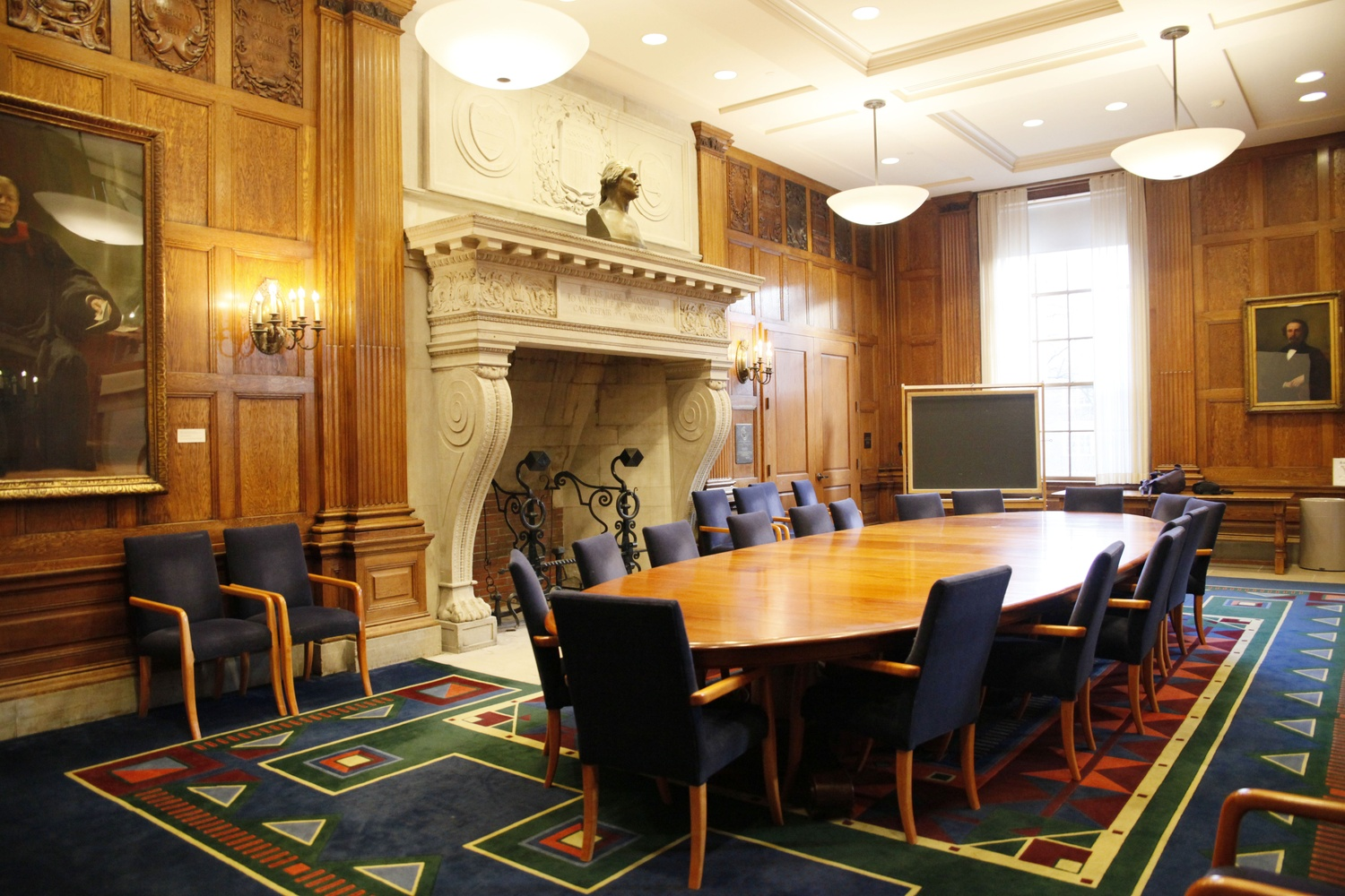 Harvard's English Department is housed in the Barker Center.