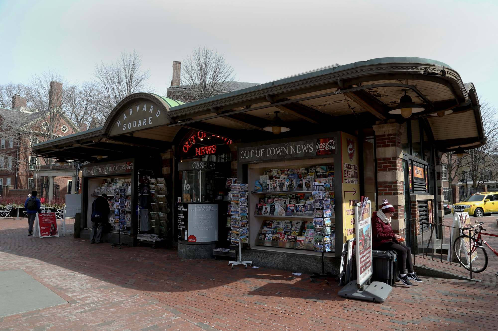 The Cambridge City Council discussed renovating the historic Out of Town News kiosk and the surrounding plaza at their meeting Monday night. The project would have a budget of $4.5 million.