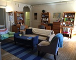 Well-decorated throp common room