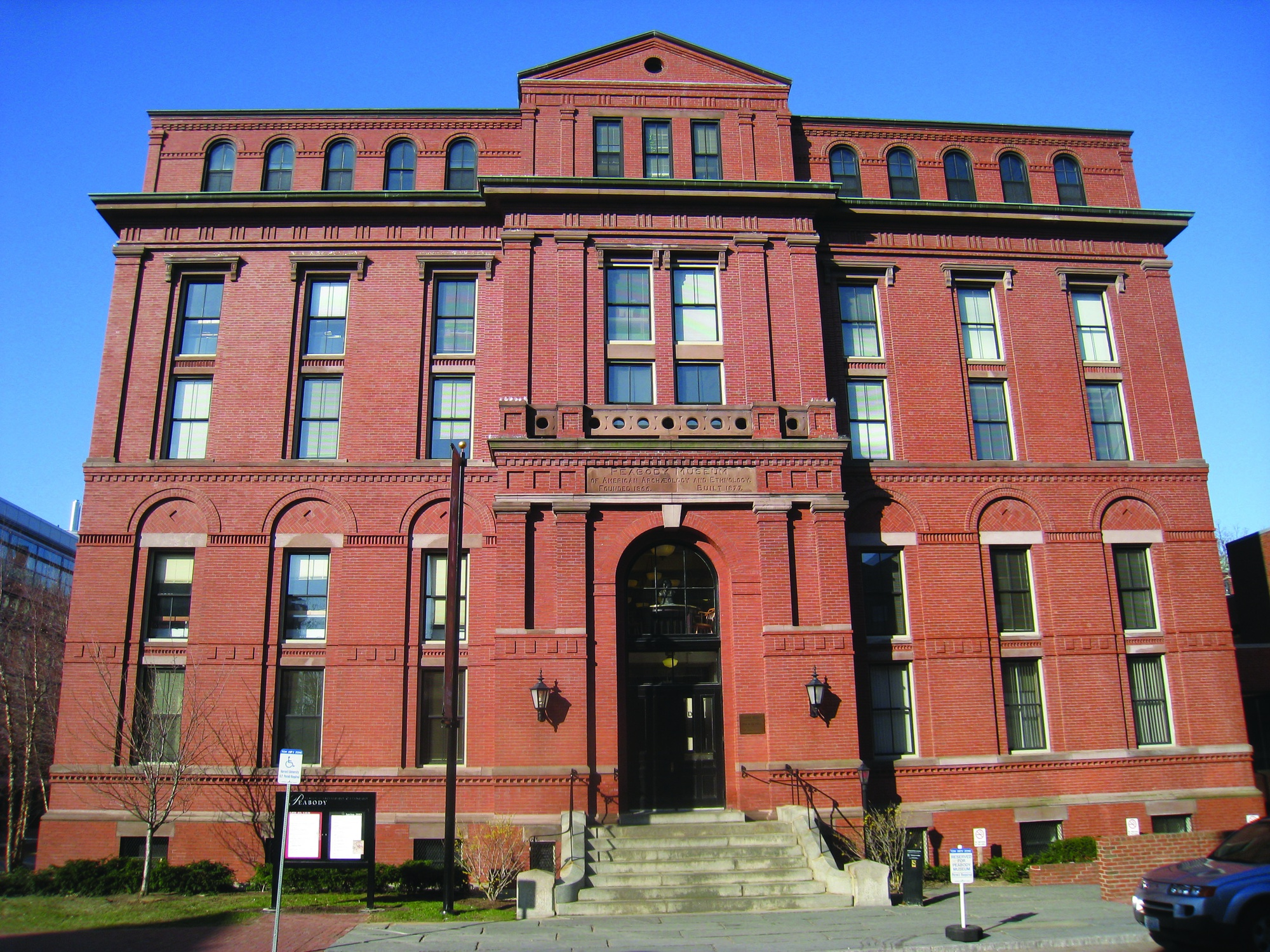 The Peabody Museum of Archaeology and Ethnology.