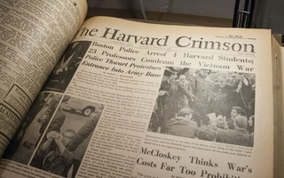 From the Archives: Harvard Students Protest the Vietnam War