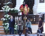 Easter Service at Memorial Church