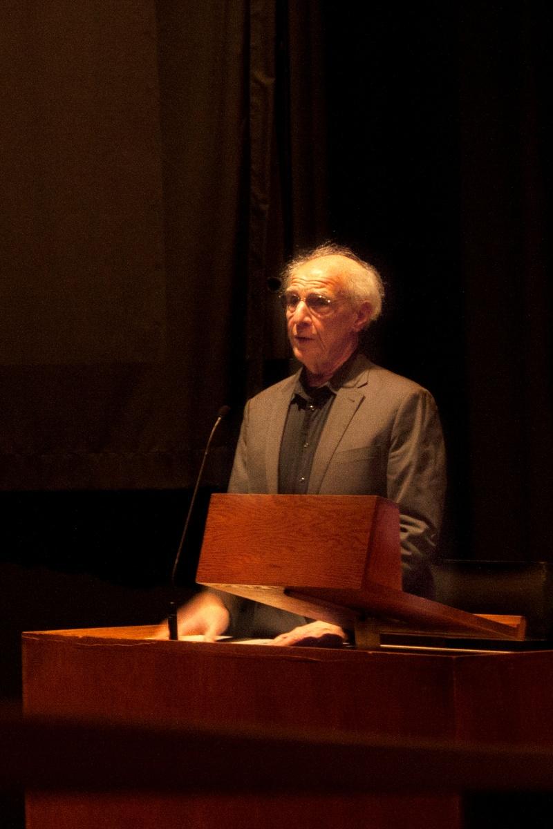 Alfred Guzzetti at the Carpenter Center