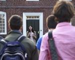 GSAS Students Protest Outside Massachusetts Hall