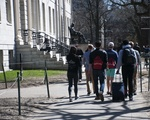 Harvard Yard During Visitas