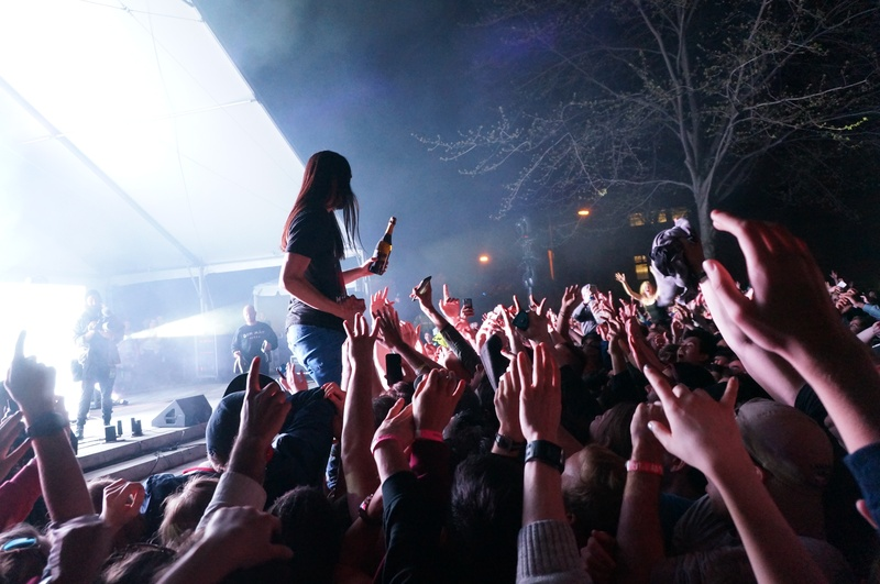 Steve Aoki's Yardfest Performance