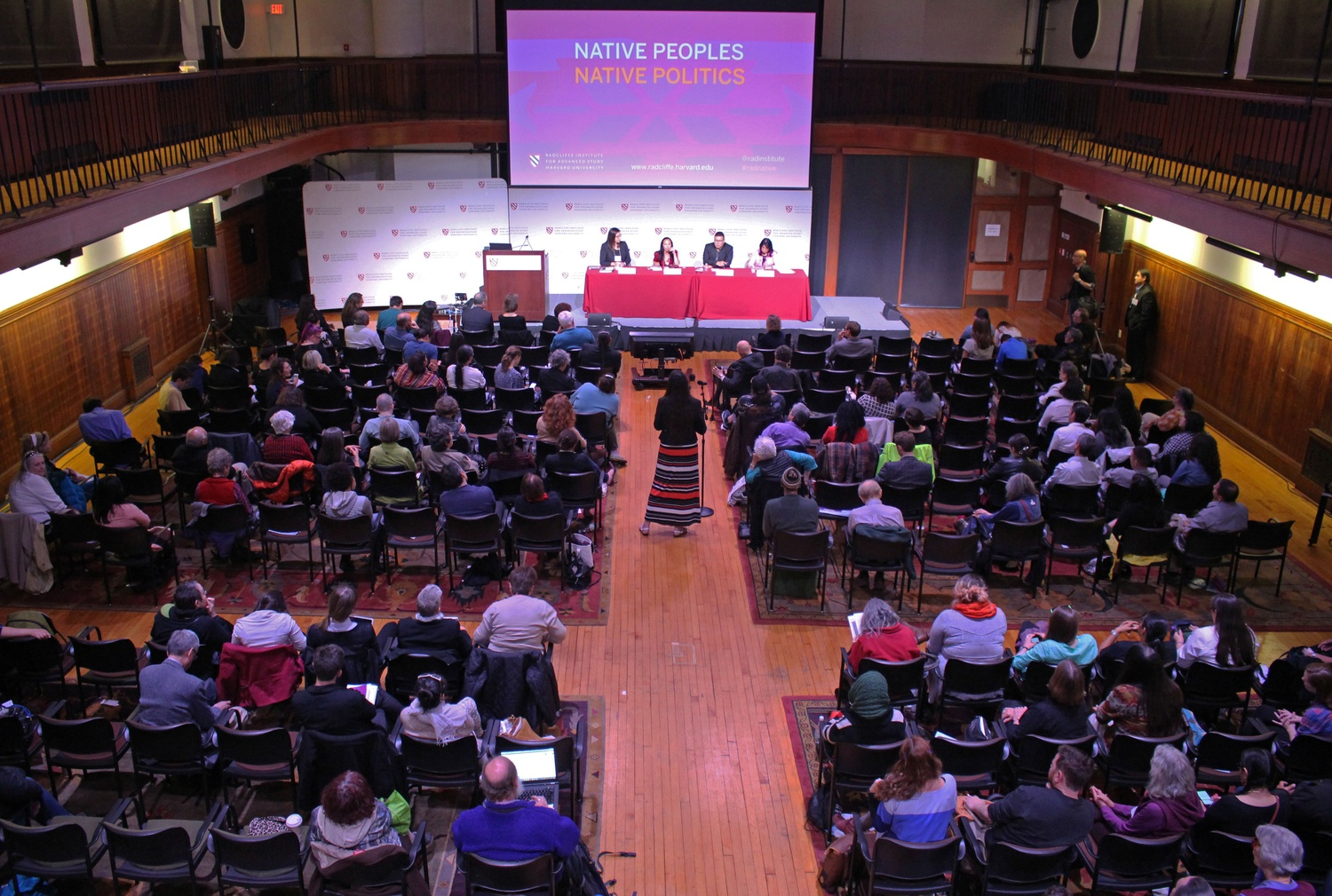 The Native Peoples, Native Politics conference in 2016.