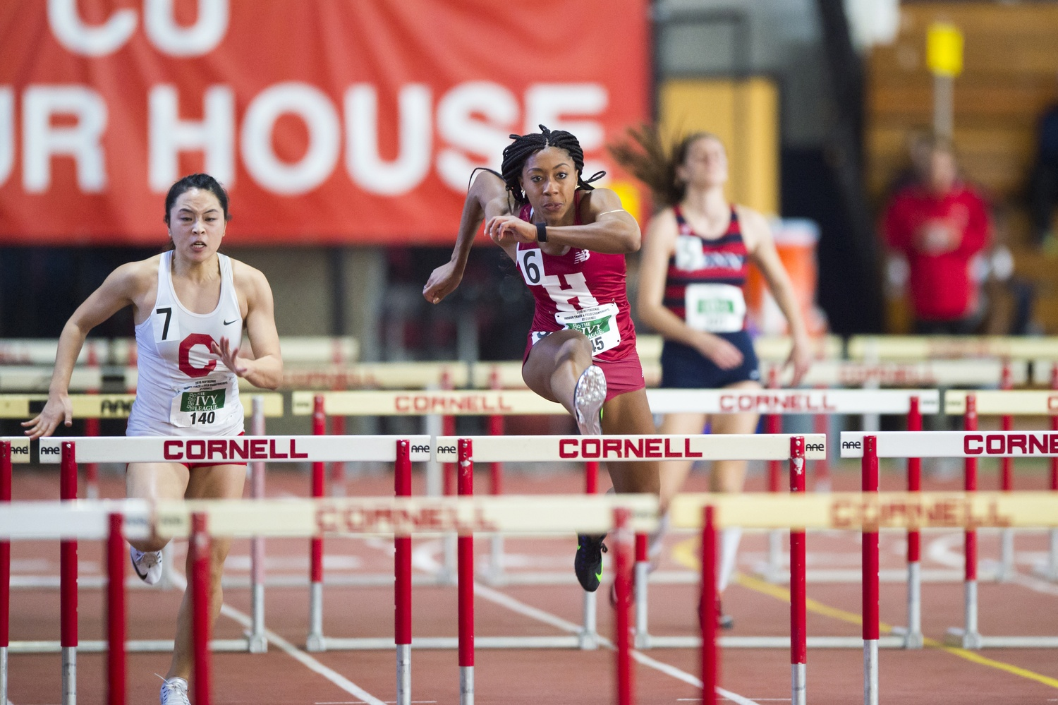 Sprinter Autumne Franklin '16 was one of five athletes to qualify for the USA Olympic trials this summer, finishing sixth place overall in the women's 400 meter hurdles.