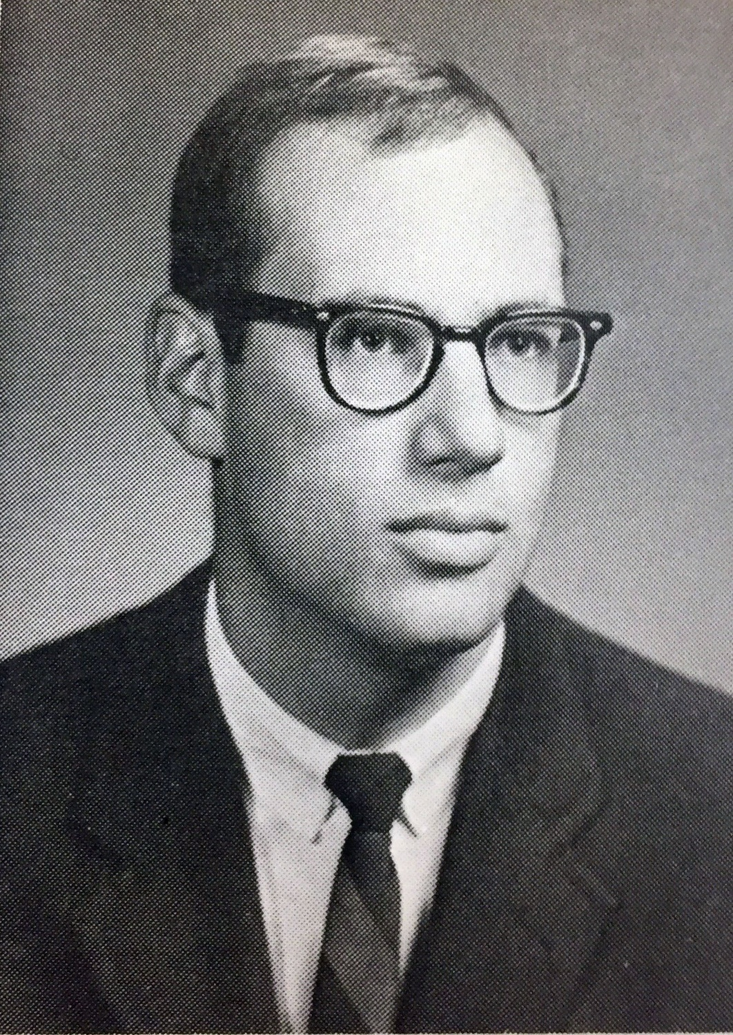 Stephen Joseph Bergman '66 is pictured during his senior year at the College, where he was a member of Leverett House. He is now a professor of psychiatry at Harvard Medical School and a famous writer under the pen name Samuel Shem.