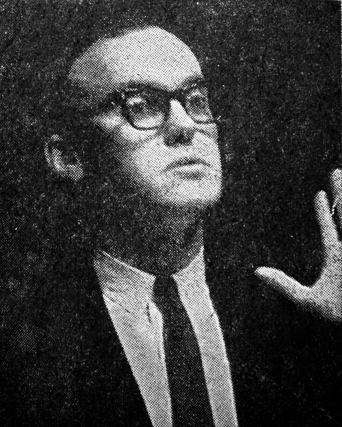 Richard Alpert in the May 28, 1963 issue of The Harvard Crimson following the Harvard