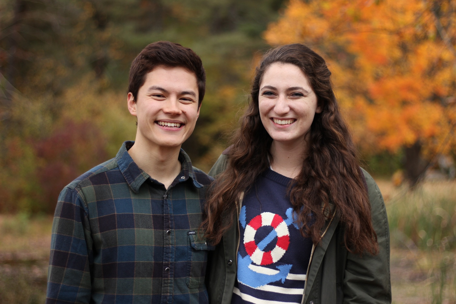 The College's Class of 2016's first marshal, Reylon A. Yount '16, and Second Marshal Jessica A. Barzilay '16 write a letter to the graduating senior class.