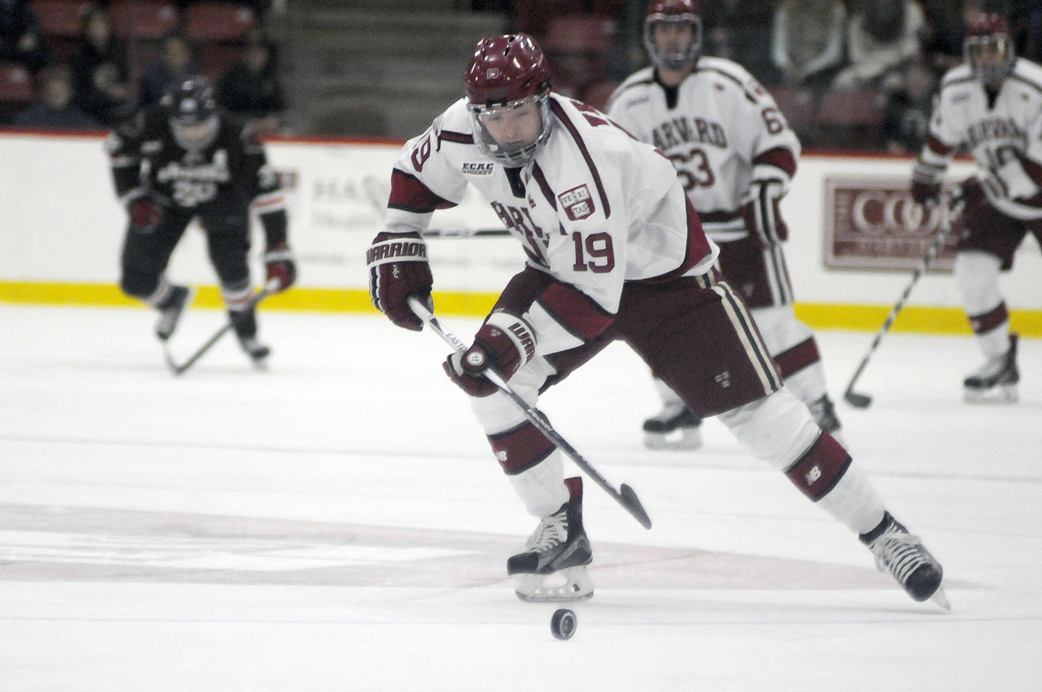 Nov. 7, 2015: In a 5-2 home win over Brown, Vesey scored twice, including on this shorthanded breakaway in the first period.
